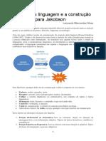 Funções Da Linguagem e a Construção Do Sentido Para Jakobson
