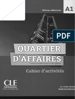 Quartier d affaires A1 cahier