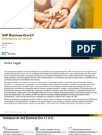 Webinar - Principais Funcionalidades - SAP Business One 9.3