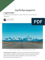 Understanding Backpropagation Algorithm - Towards Data Science