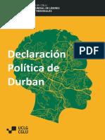 The Durban Political Declaration