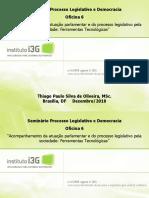 Apresentação - Seminário Processo Legislativo e Democracia - Thiago Paulo
