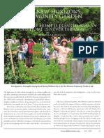 New Horizons is the Multi-ethnic Bosnian Community Garden in Toronto, Canada