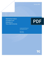 TAMU Multivariate Analysis
