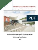 SIU-PhD-Rule-Book