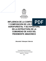 Aves Amazonia Sistemas Agroforestales y Silvopastoriles