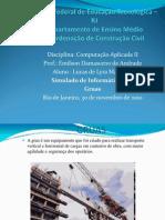 TRABALHO DE COMPUTAÇÃO APLICADA - GRUAS