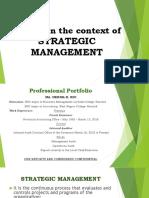 PA 608 Strategic Management Presentation