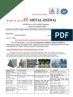 Hitesh Metal (India)Introduction &  Profile 1.2.18