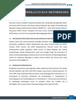 6 Pendekatan dan Metodologi