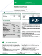 Sample Manulife Proposal