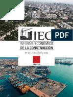 Informe económico construcción