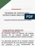 Teorema de Castigliano - Indeterminadas