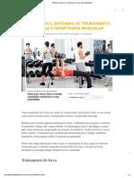 19 Métodos e Sistemas de Treinamento de Força e Hipertrofia Muscular