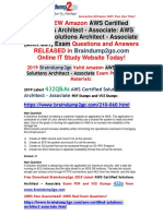 [November-2019]Braindump2go New AWS-Certified-Solutions-Architect-Associate VCE Dumps Free Share.pdf