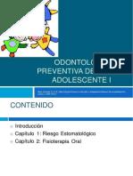 Odontología Preventiva del Niño y Adolescente