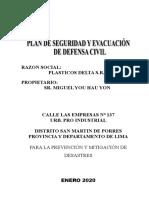 MODELO BÁSICO PLAN DE CONTINGENCIA