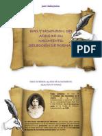 Javier Ceballos Jiménez - EMILY DICKINSON. 189 AÑOS DE SU NACIMIENTO.  SELECCIÓN DE POEMAS