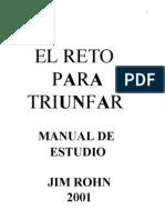 Jim Rohn - El Reto Para Triunfar (Manual de Estudio)