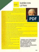 """""""Sueño con letras"""" Adolfo Castelo - TXT 2"""