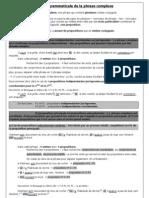 PDF Phrase Complexe
