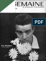 La semaine à Radio-Canada, du 13 au 19 décembre 1958