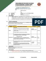 SESION DE APRENDIZAJE DINAMICA 2019 II - copia