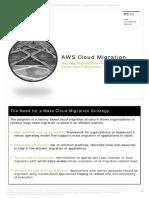 AWS Cloud Migration Helping Organizations Conduct Large Scale Cloud Migration imp vvvvV