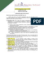 Securities Regulations Code