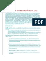 WORKMEN COMPENSATION ACT 1923.docx