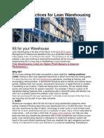 5S Best Practices for Lean Warehousing.docx