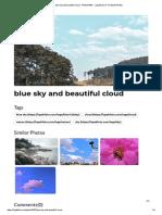 Blue Sky and Beautiful Cloud - Photo #1967 - LapakFoto _ Free Stock Photos