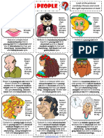 Describing People Physical Appearance Worksheet