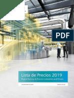 Lista de Precios Siemens PD&DF-2019_V2