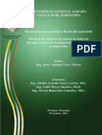 Efecto de la inclusión de harina de hojas de Moringa oleifera en la alimentación de conejos en desarrollo