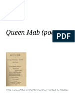 Queen Mab (poem) - Wikipedia