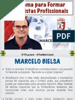Marcelo Bielsa - Programa para se formar Futebolistas