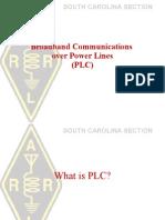 Broadband Communications Over Power Lines