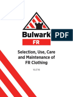 WHITEPAPER_____BULWARK___SELECTION__USE__CARE_AND_MAINTENANCE_OF_FR_CLOTHING_5.19