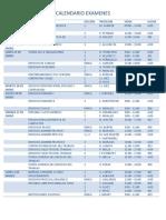 CALENDARIO DE EXAMENES TEMPORADA ORDINARIA 2019 VERSION 7(1)