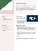 luke booher resume
