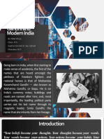 Gandhi and Modern India.pptx