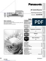 Panasonic Manual sahe100