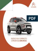 Catalogo c3 Aircross