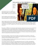La OSCURA historia de COLÓN y la FARSA del