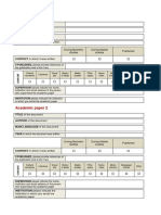 Academic Essays Form