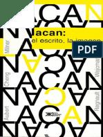 Lacan. El escrito, la imagen [J. Aubert; F. Cheng; J.-C. Milner; F. Ragnault & G. Wajcman].pdf