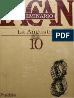 Seminario 10 - La Angustia (14 de noviembre de 1962 al 3 de julio de 1963) PAIDOS.pdf
