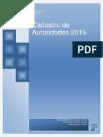 CADASTRO DE AUTORIDADES DO ESTADO