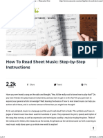 How To Read Sheet Music_ Step-by-Step Instructions — Musicnotes Now